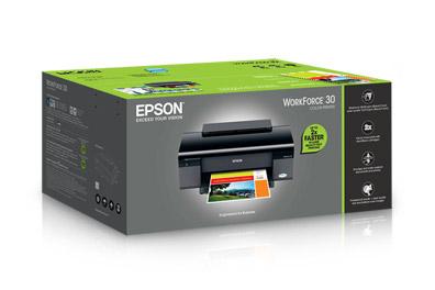 Máy in màu - Epson WorkForce 30