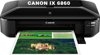 Cho thuê máy in màu khổ a3 Canon IX 6860
