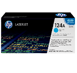 Mực in HP 124A Cyan LaserJet Toner Cartridge (Q6001A)
