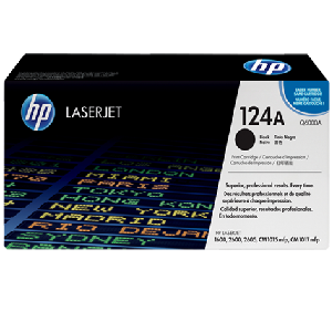 Mực in HP 124A Black LaserJet Toner Cartridge (Q6000A)