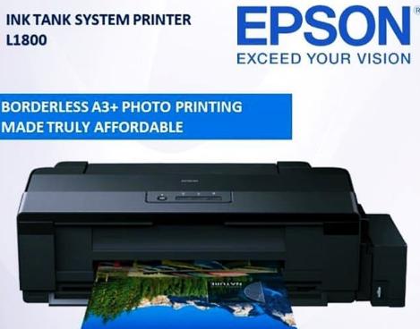 Máy in phun màu khổ giấy A3 Epson L1800