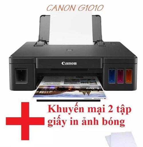 Máy in phun màu A4 đơn năng Canon Pixma G1010