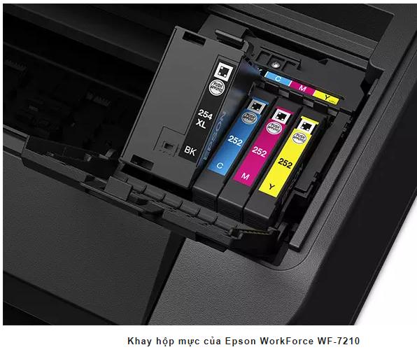 Máy in phun màu A3 WorkForce Epson WF 7210