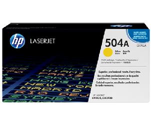 Mực in HP 504A Yellow Laserjet Toner Cartridge (CE252A)