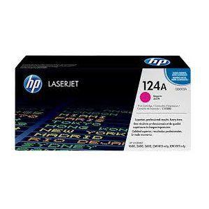 Mực in HP 124A Magenta LaserJet Toner Cartridge (Q6003A)