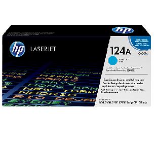Mực in HP 124A Cyan LaserJet Toner Cartridge (Q6001A)
