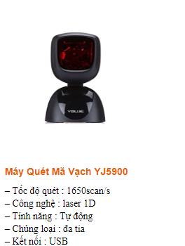 Máy quét mã vạch YJ5900