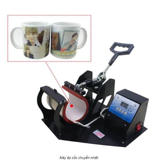 Máy ép hình ảnh lên cốc