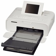 Máy in ảnh du lịch Canon Selphy CP1200 - màu đen/ hồng/ trắng